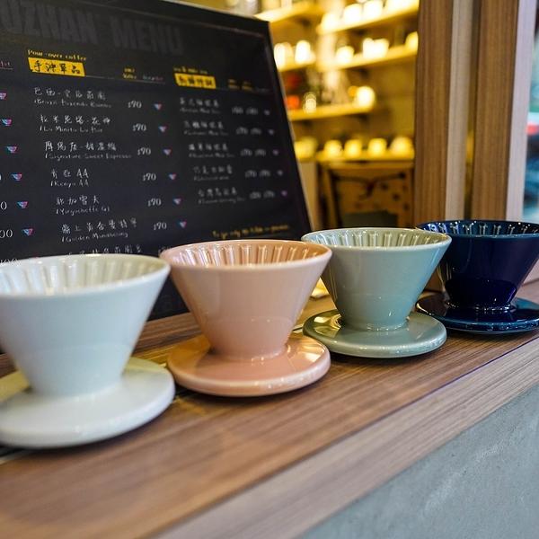 【沐湛咖啡】CAFEDE KONA Hasami 波佐見燒 陶瓷 錐形濾杯 1-2人 藍色/白色/粉色/灰色/綠色