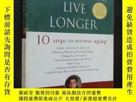 二手書博民逛書店Grow罕見Younger,Live Longer 【更年輕、更