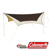 Coleman CM-1575 氣候達人六角型天幕 露營帳篷/網屋/客廳帳/炊事遮陽帳 公司貨
