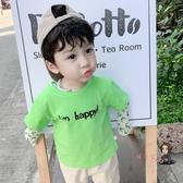 兒童短袖 男童短袖t恤2020年夏季新款韓版寶寶半袖小童夏裝棉兒童上衣潮 4色