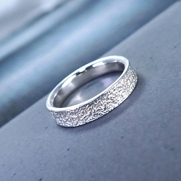 [預購] 自然系 土 Soil 男款 925純銀戒指 ART64