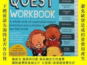 二手書博民逛書店Brain罕見Quest Workbook 1Y11775 Li