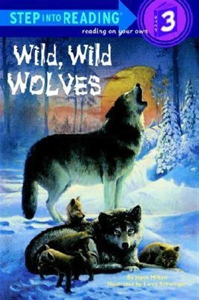 (二手書)Step into Reading Step 3: Wild, Wild Wolves