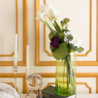 模擬花假花 套裝 花藝 客廳餐桌 裝飾花 花瓶花束 -bri020699
