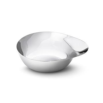 丹麥 Georg Jensen Barbry Snack Bowl W19.2cm 包柏瑞 不鏽鋼 點心碗