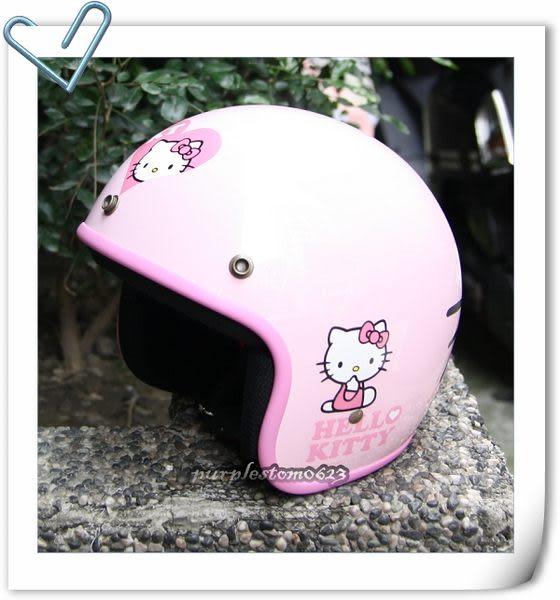 Hello Kitty安全帽,309,大臉/粉~林森