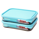 《Glasslock》格拉氏洛克強化玻璃減油微波保鮮盒 SP-1811 **免運費**