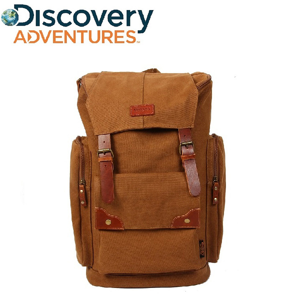 Discovery Adventures 復古系列 多口袋設計後背包 20L 《生活美學》
