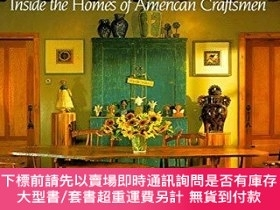 二手書博民逛書店Hand罕見and Home: The Homes of American Craftsmen-手與家:美國工匠的