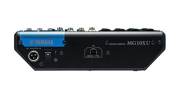 【金聲樂器廣場】全新 YAMAHA MG10XU 混音器 10軌輸入 含SPX效果 USB介面