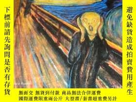 二手書博民逛書店2手英文罕見Edvard Munch Masterpieces