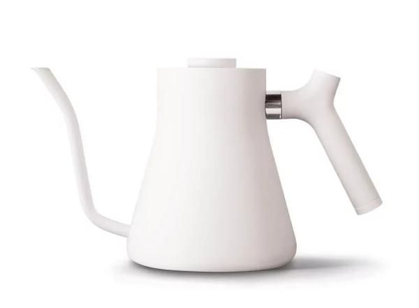 金時代書香咖啡 FELLOW STAGG v1.2 不鏽鋼測溫細口手沖壺 1L 霧面白 FELLOW-V12WH