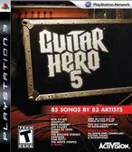 PS3 Guitar Hero 5 Stand Alone Software 吉他英雄5-單軟體(美版代購)