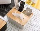 簡約北歐紙巾盒 客廳家用抽紙盒家居裝面紙...