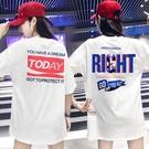 短袖T恤 cec短袖t恤女2020夏裝網紅潮牌歐貨大版洋氣寬松中長款純棉上衣