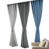 全遮光窗簾布料成品落地飄窗陽台臥室客廳防曬隔熱簡約現代保暖 雙12鉅惠 聖誕交換禮物