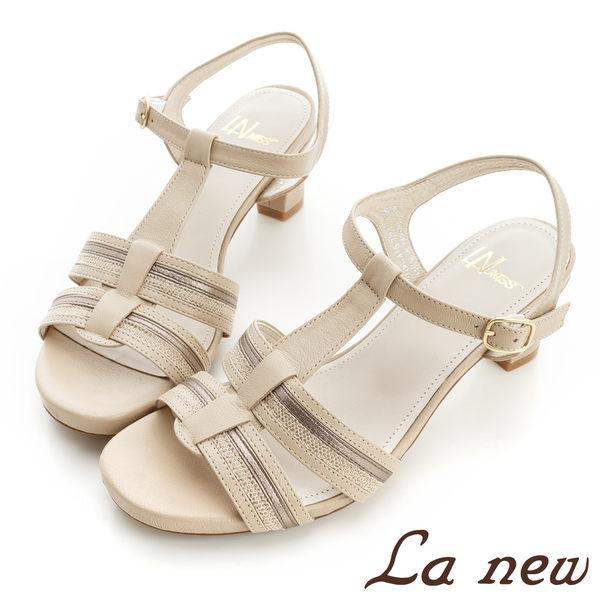 【La new outlet 】女低跟涼鞋(女221061416)