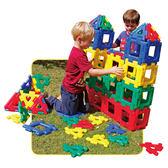 【華森葳兒童教玩具】建構積木系列-大英皇寶利智慧片-基礎組 N9-70-7015