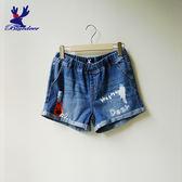 American Bluedeer-哈囉小鹿牛仔短褲