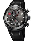 ORIS 豪利時 Grand Prix賽事歐陽若曦計時限量機械手錶-黑 0177476117784-SET