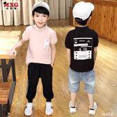男童T恤 男童短袖T恤2019夏季新款 兒童polo衫韓版潮童裝中大童體恤 nm21838【甜心小妮童裝】
