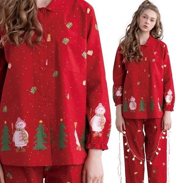 【南紡購物中心】ROSEMAID羅絲美 耶誕睡衣褲裝19350