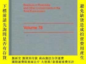 二手書博民逛書店Residue罕見Reviews (Volume 78, 198