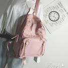後背包-牛津布雙肩包女校園學生書包大容量...