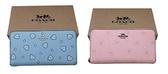 ~雪黛屋~COACH 長夾國際正版保證進口防水防刮皮革U型拉鍊包覆型主袋附品證購證塵套提袋C297431