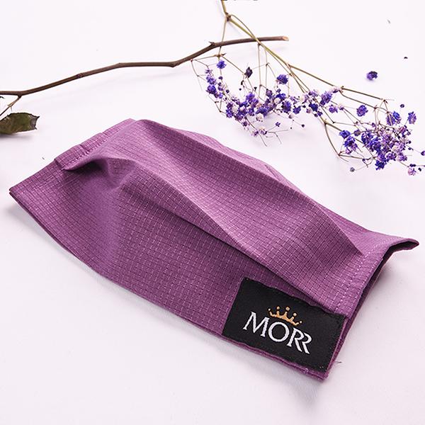 【MORR最罩】抗菌透氣口罩套(丁香紫) - Made in Taiwan