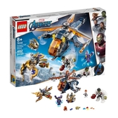 76144【LEGO 樂高積木】SUPER HEROES系列 - Avengers Hulk Helicopter Rescue