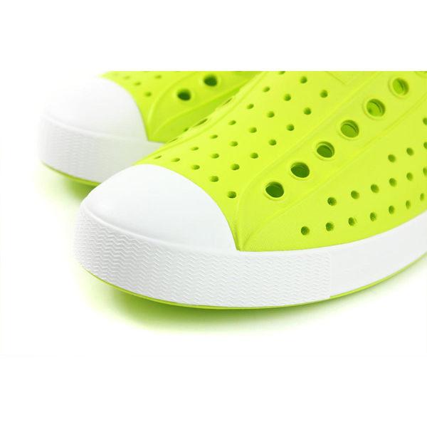 native JEFFERSON 休閒鞋 洞洞鞋 螢光綠 男女鞋 11100100-3161 no924
