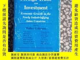 二手書博民逛書店foreign罕見trade and lnvestment(英文原版 精裝)Y10445 edited by