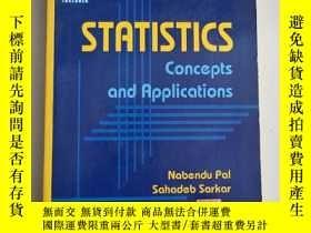 二手書博民逛書店STATISTICS:CONCEPTS罕見AND APPLICATIONS統計:概念和應用[含盤)沒勾畫Y63