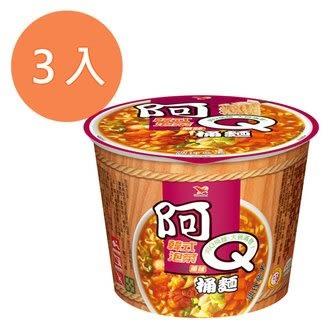 阿Q桶麵 韓式泡菜風味 102g (3入)/組