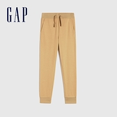 Gap男童 舒適基本款鬆緊休閒褲 910620-駝色