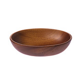 桃花心木橢圓型盤-小