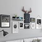 照片墻裝飾品創意個性客廳相冊相框掛墻組合房間背景相片墻自粘貼wl6683[3C環球數位館]