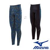 Mizuno  BG9000  男裝 褲子 長褲 兩面穿  緊身  黑 麻花藍【運動世界】K2MJ5B0293
