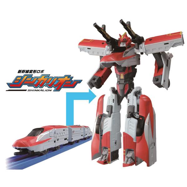 TAKARA TOMY PLARAIL 新幹線變形機器人 DXS02 E6 小町號