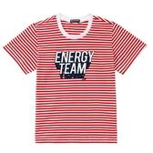 『小鱷魚童裝』ENERGY TEAM印圖條紋T恤(02號~10號)557495