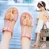 女童夏季中大童公主兒童韓版軟底小童小女孩童鞋【聚物優品】