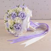 韓版仿真新娘伴娘手捧花婚禮攝影道具