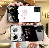 全包防摔蘋果11pro Max手機殼 超薄創意iphone 11保護套情侶矽膠軟邊IPhone 11pro卡通個性可愛手機套