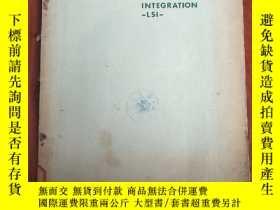 二手書博民逛書店large罕見scale integration LSI(P3016)Y173412