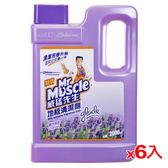 威猛先生地板清潔劑-薰衣草原2000ml*6(箱)【愛買】