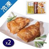大成醬燒蒜味腿排220G/包x2【愛買冷凍】