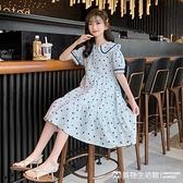 女童洋裝 女童連身裙夏裝2021新款兒童裝洋氣薄款公主裙中大童網紅夏季裙子 美物生活館