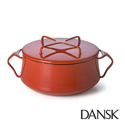 里和Riho Dansk Kobenstyle 雙耳砂鍋 4QT(紅)