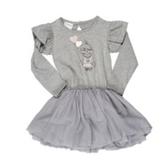 有機棉洋裝 兒童 幼童 短袖洋裝 小洋裝 有機棉 澳洲 HUXBABY 有機棉長袖洋裝 - 愛心汽球